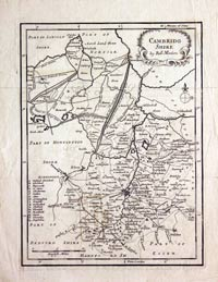 Cambridgeshire Morden c.1720