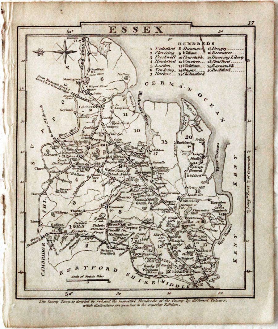 GRAY'S NEW BOOK OF ROADS of ENGLAND AND WALES 1824 • With ALL 50 MAPS