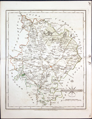 Maps, Atlases & Globes Kind-Hearted Antique County Map Of Hertfordshire By John Cary Original Outline Colour 1793
