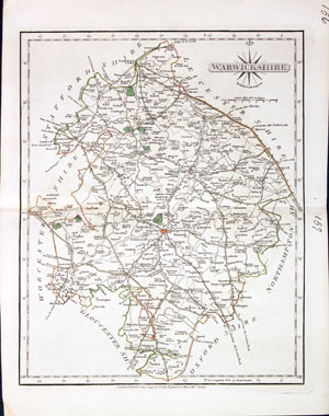 Original Outline Colour 1793 Maps, Atlases & Globes Art Prints Kind-Hearted Antique County Map Of Hertfordshire By John Cary
