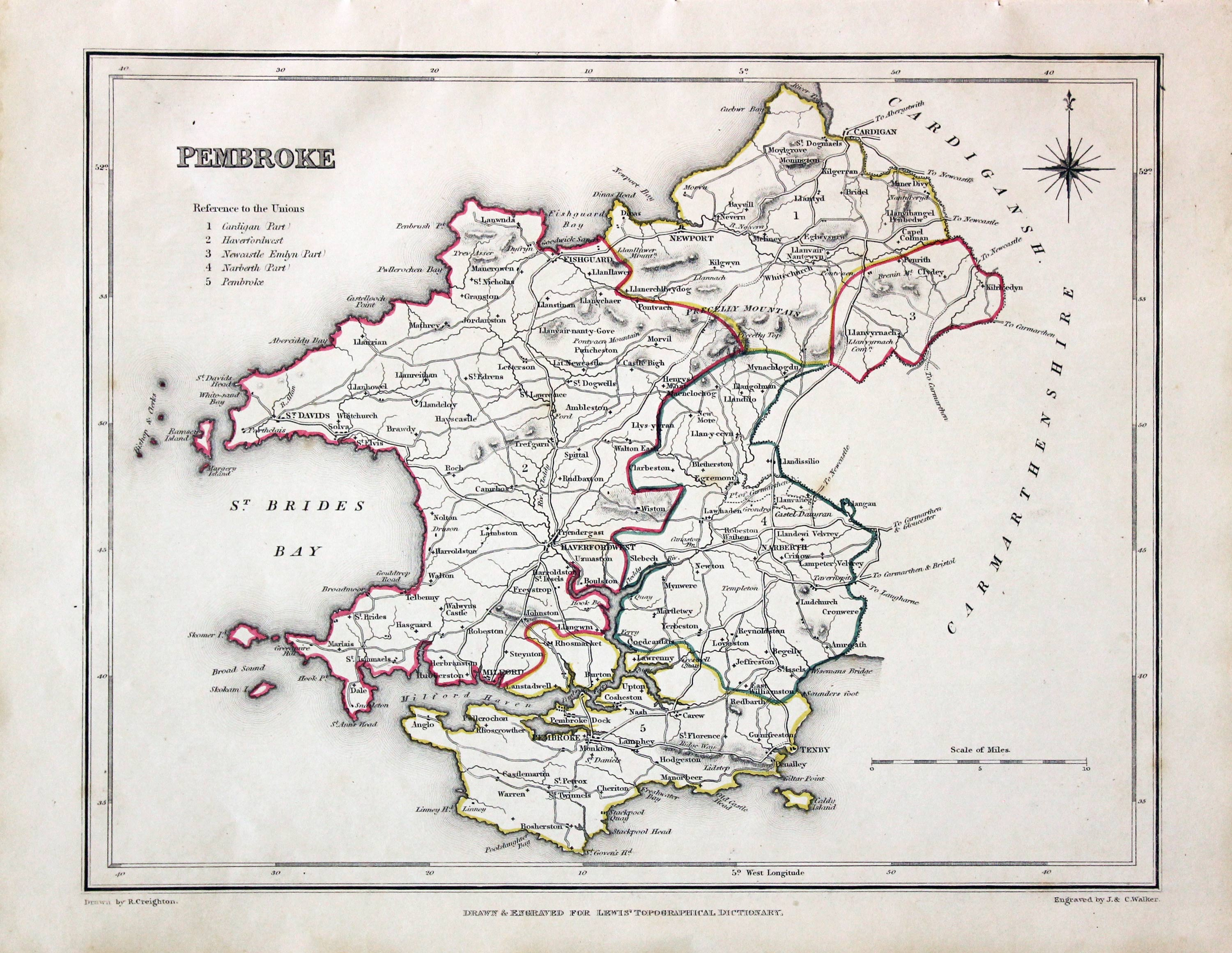 Cruchley's General Atlas 1848