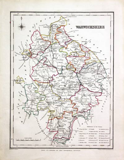 Maps, Atlases & Globes Kind-Hearted Antique County Map Of Hertfordshire By John Cary Original Outline Colour 1793 Antiques