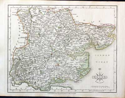Antique County Map Of Buckinghamshire By John Cary Antiques Original Outline Colour 1793 New Varieties Are Introduced One After Another