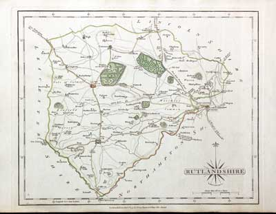 Antique County Map Of Buckinghamshire By John Cary 1787 Old Chart Reasonable Price Art