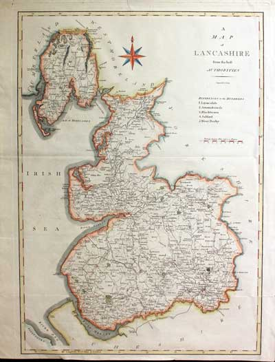 Antique County Map Of Buckinghamshire By John Cary Original Outline Colour 1793 New Varieties Are Introduced One After Another Maps, Atlases & Globes