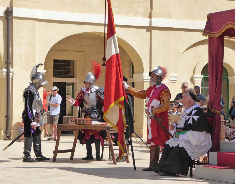 Fort St.Elmo in Valletta, Malta