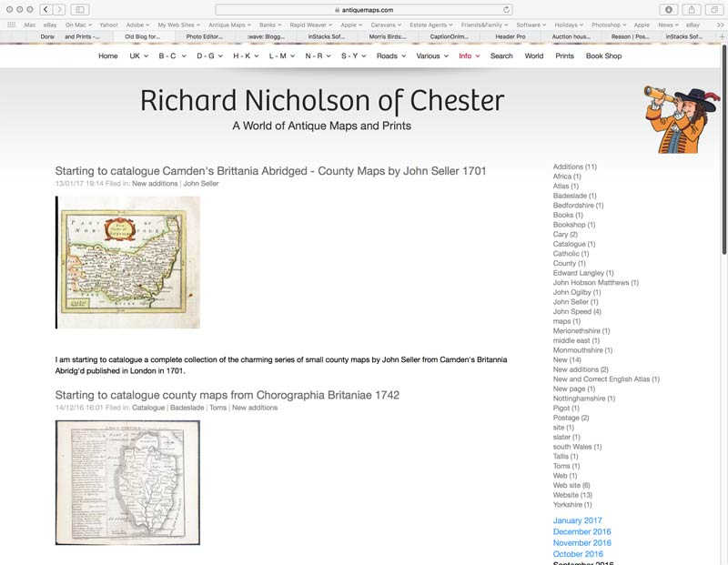 Richard Nicholson of Chester Blog