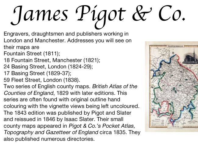 James Pigot - Publisher