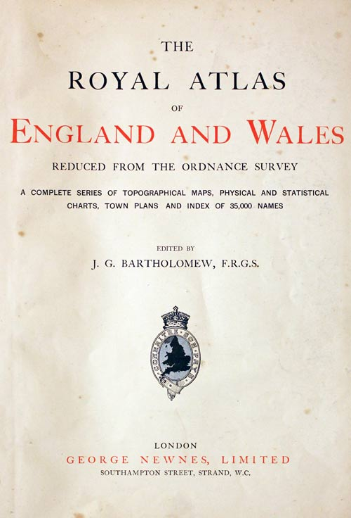 Royal Atlas Titlepage