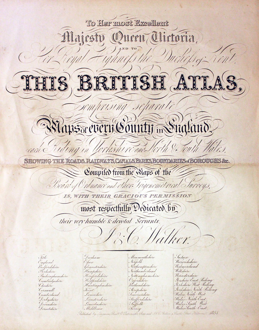 British Atlas Titlepage