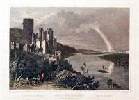 Ruins of Stolzenfels Rhine