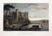 Llaugharne Castle Carmarthenshire