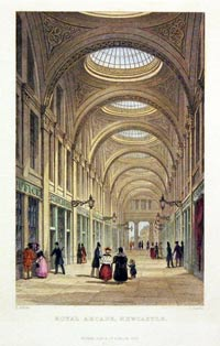 Royal Arcade, Newcastle 1830