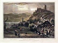 Ruins of Keimburg Rhine