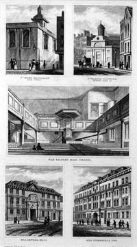 Five London Views, T. H. Shepherd, 1835