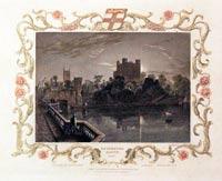 Rochester Castle W. Tombleson