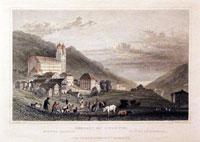 Convent of Disentis Rhine