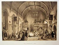 Hall, Penshurst Kent Joseph Nash
