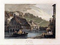 Namur on the Sambre, 1840