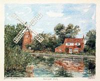 Hunsett Mill Norfolk