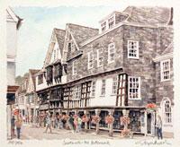Dartmouth - The Butterwalk