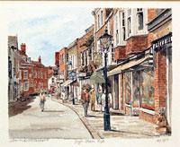 High Street Rye Sussex