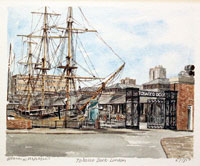 Tobacco Dock, London