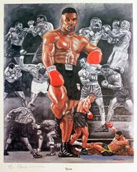 Tyson the boxer