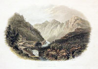 Pont Aberhlaslyn Pass North Wales