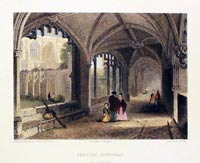 Chester Cathedral Cloisters 1841