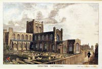 Chester Cathedral 1845