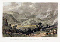 Rossthwaite, Borrowdale, from the Road to Watenlath