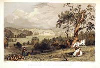 Belvoir Castle, from the Dairy