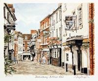 Butcher Row Shrewsbury