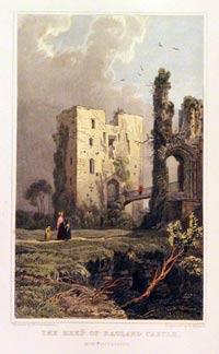 Raglan Castle Keep