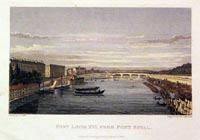 Pont Louis XVI, from Pont Royal Paris