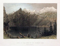 Lake at the Foot of the Blumlis Alp - In the Ascenthal