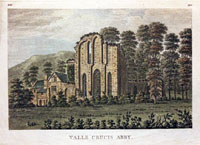 Valle Crucis Abbey Denbighshire