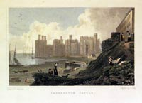 Caernarvon Castle North Wales