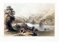 Llyn Gwynant Caernarvonshire