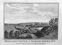 Mitford Castle Northumberland