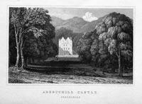 Aberuchill Castle, Perthshire
