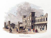 Chester Railway Station 1857