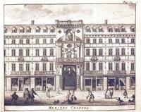 Mercers Hall, Pieter Van der Aa, 1707