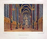 Interieur de la St. Chapelle