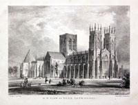 York Cathedral, G. Hawkins, c.1845
