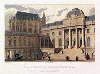 Palais de Justice, from the Court Yard Paris