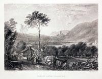 Hornby Castle, J. M. W. Turner, c.1850