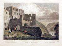 Ruins of Rheinfels Rhine