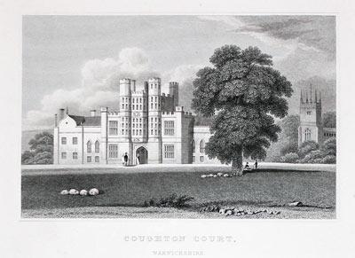 Coughton Curt, Warwickshire